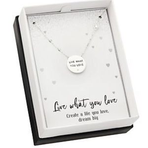 Jewelry - 💎💛NEW Live What You Love Pendant Necklace